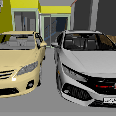 3D Images and Animations - Build Your Dream Car