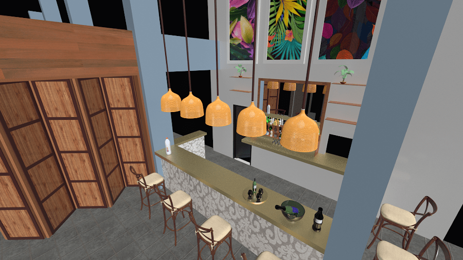 3d images - Restaurants and Bars