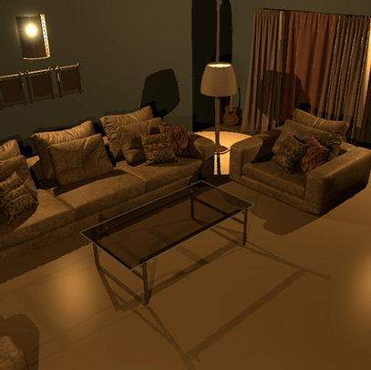 3D Images and Animations - Your Living Room